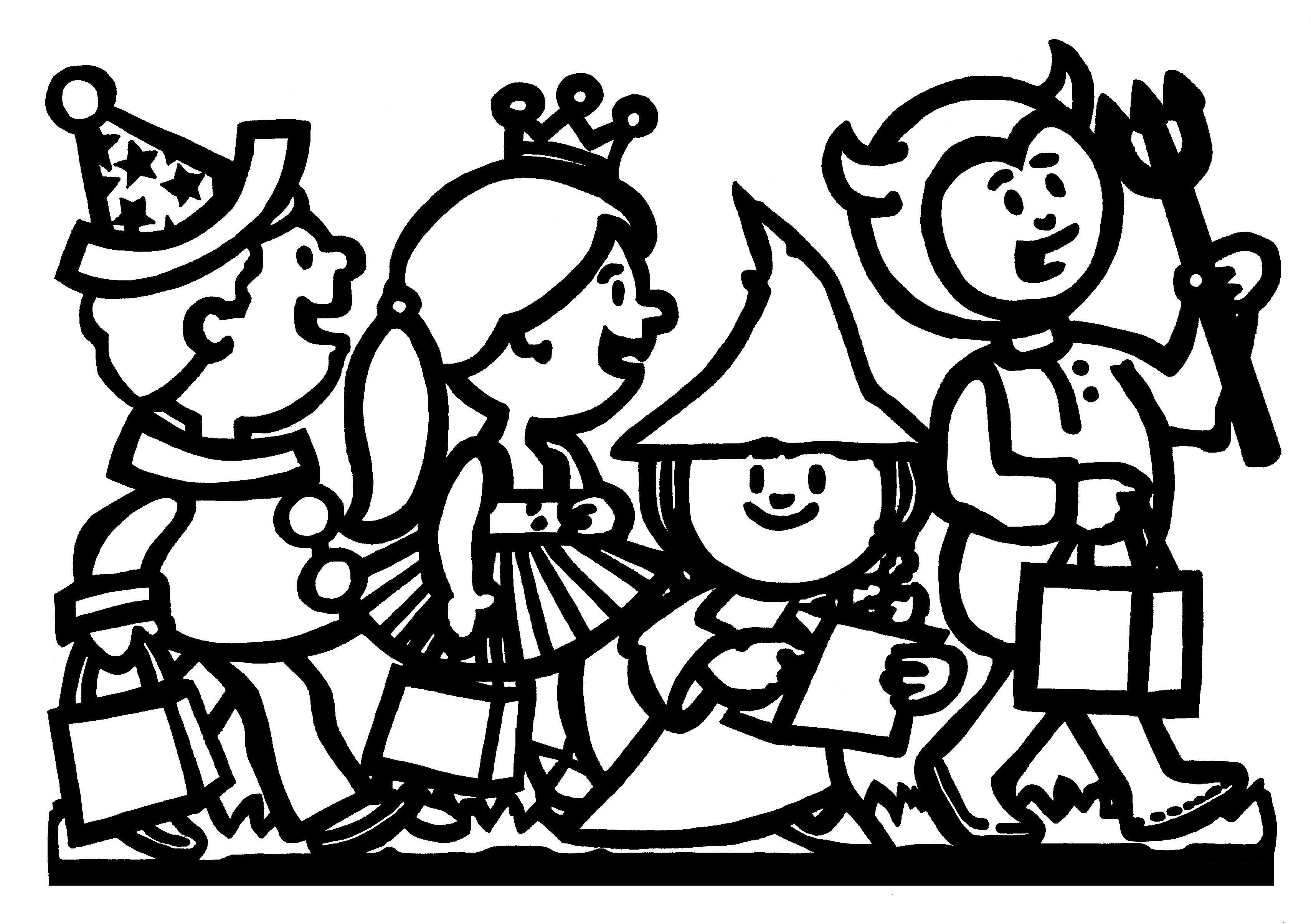 Thema Kleurplaten Halloween.Kleurplaten Thema Halloween Kleurplaten Creatief Met Kinderen