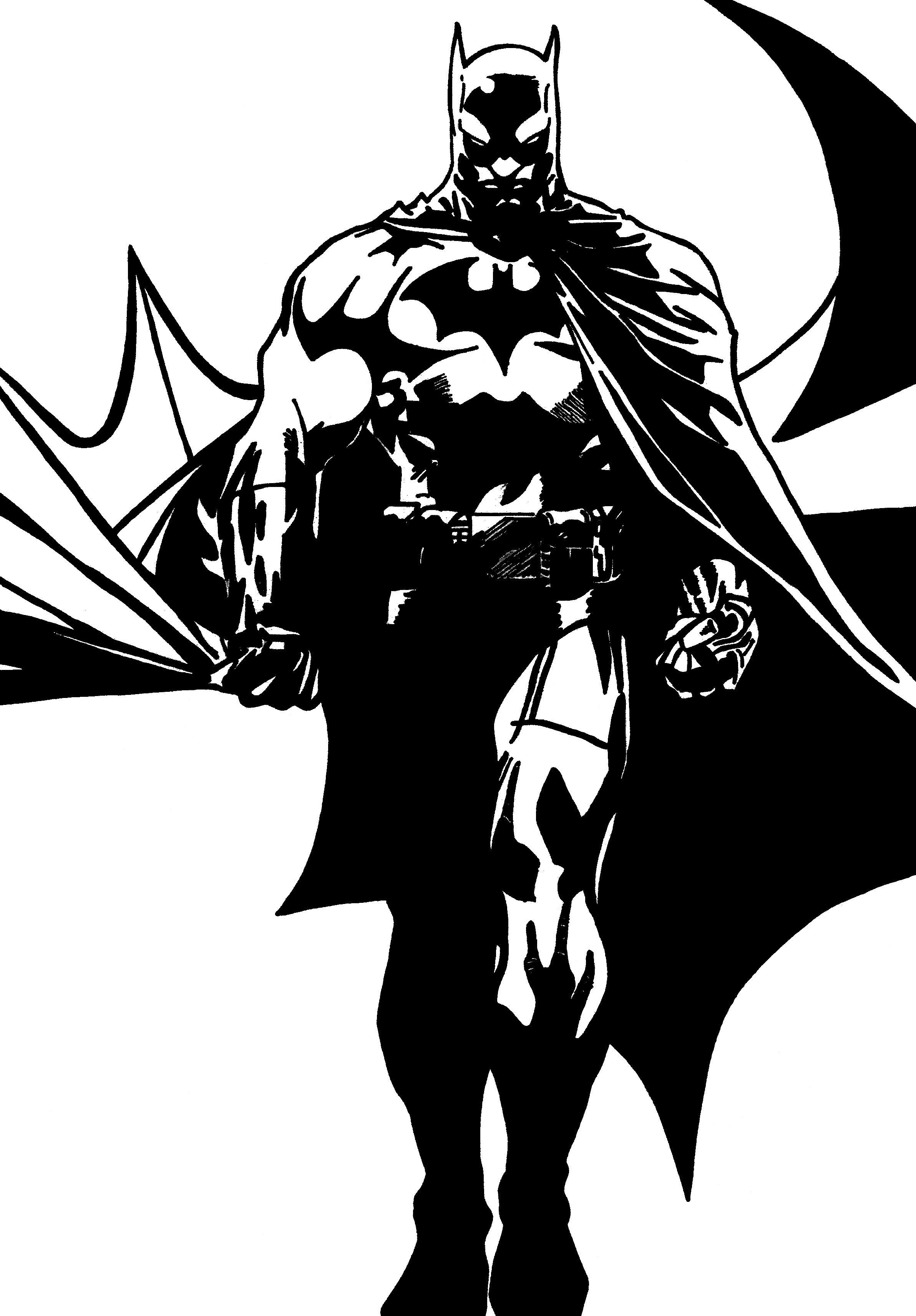 Kleurplaten Batman 3.Kleurplaten Thema Superhelden Kleurplaten Creatief Met Kinderen